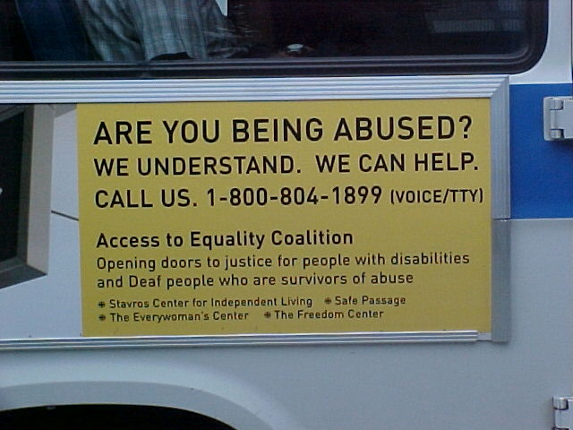 Access To Equality Bus Poster