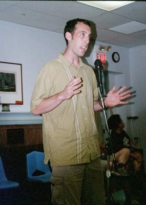 Oryx Cohen speakout 2003