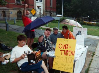 Mad Pride Outreach Day 2002